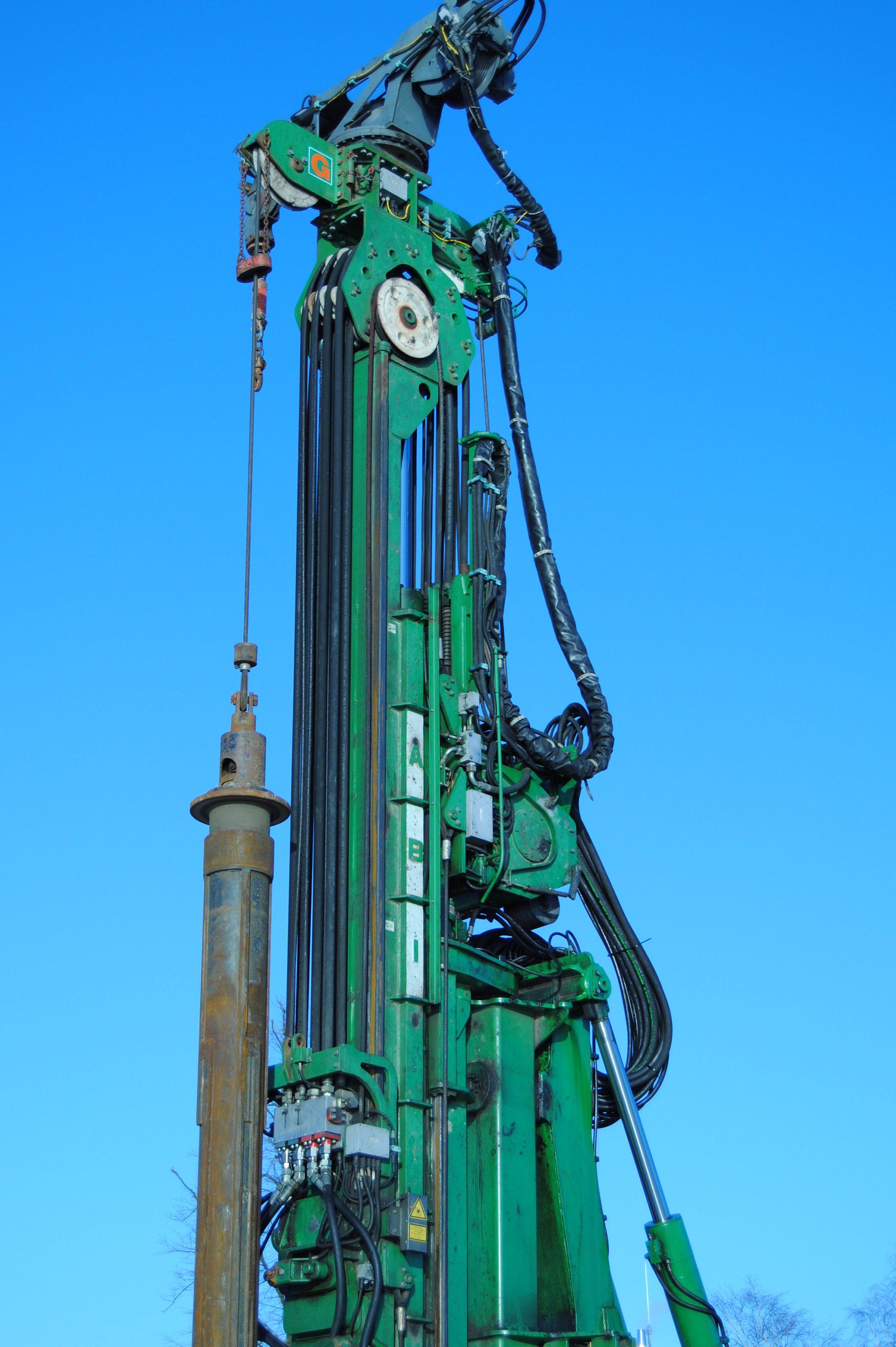 Bohrmaschine, 2010, Fotografie