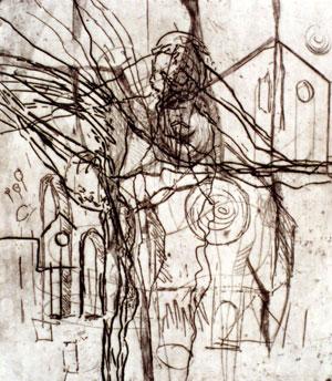 Bologna I, 1999, Radierung