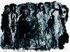 Stadtmenschen, 1996, Lithografie