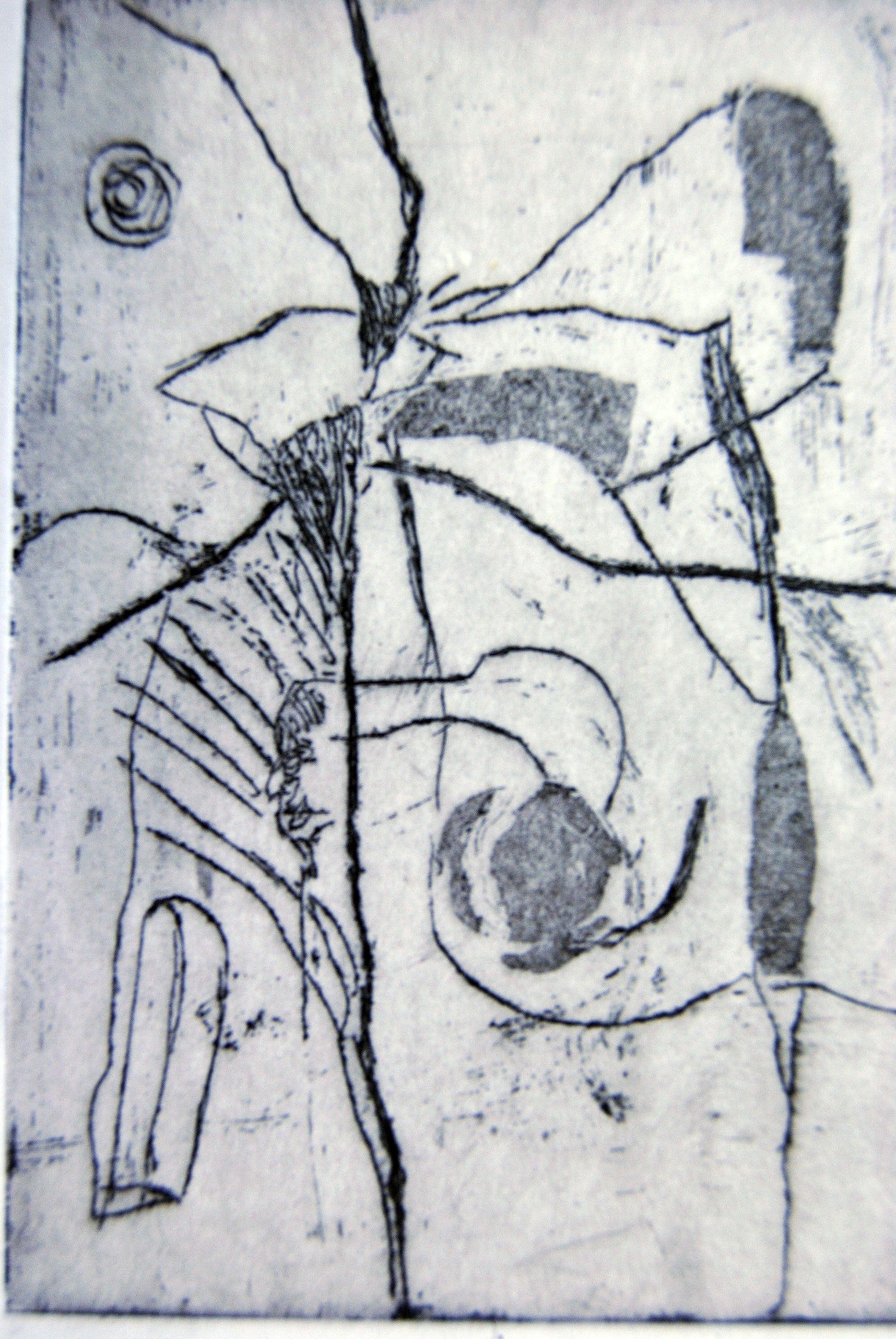 Toskana, 1999, Radierung