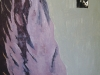Afghanische Frau 2, 2005, Öl auf Nessel, 170 x 140 cm