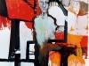 Stahlmensch, 2001, Öl auf Leinwand, 170 x 130 cm