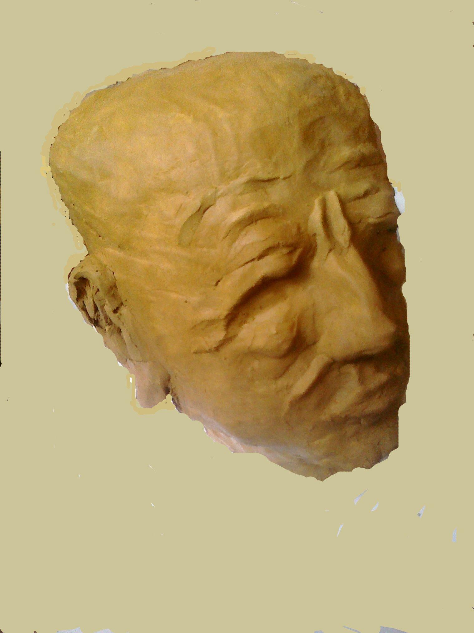 Alter Kopf, 2011, Ton
